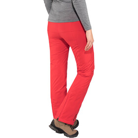 Maier Sports Vroni Slim Pantalones Stretch MTEX Mujer, poinsettia